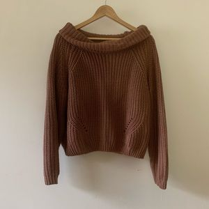 Charlotte Russe Oversized Sweater